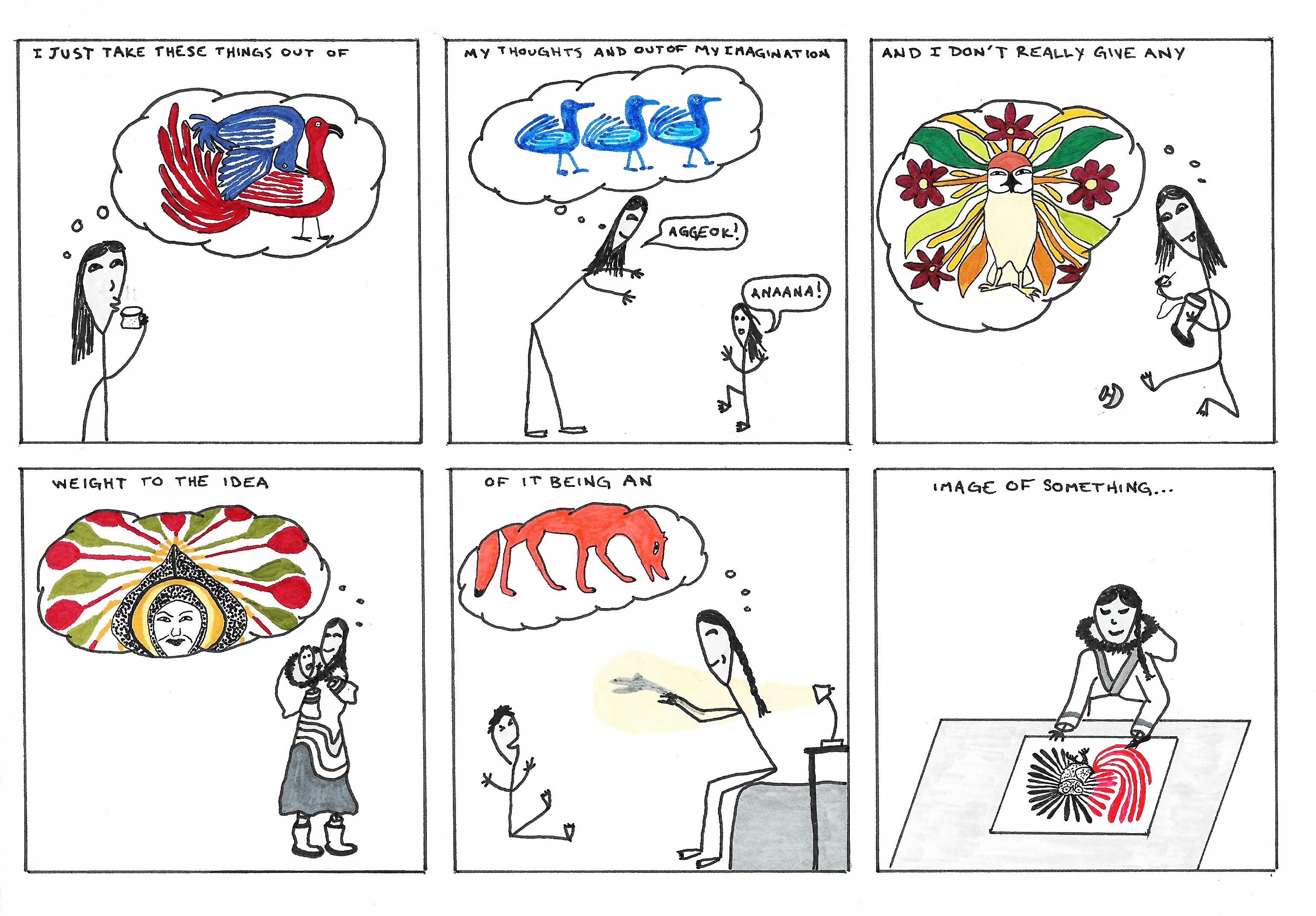 Final Kenojuak Comic